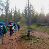 Hiking at Philmont Scout Ranch, NM.