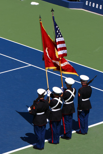 Opening ceremony at the US Open