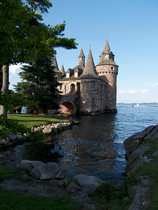 The Power House for Boldt Castle, on Heart Island, Alexandria Bay, NY.