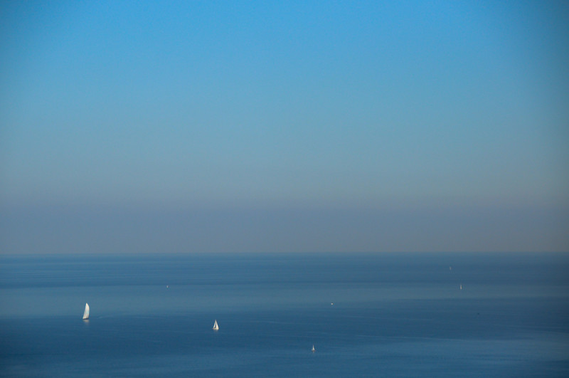 The Mediterranean from Montjuic
