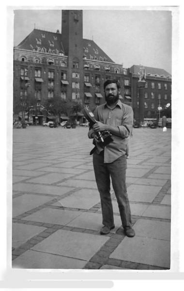 """Alex de Rensey's, Innocents Abroad"".  Copenhagen, 1970.<br /> Photo: Street Photographer."