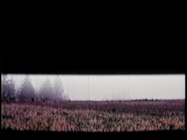 The opening title sequence from the film, 'Holy Thursday'.  A twenty minute film by George Hood and Richard Blakeslee, 1969.
