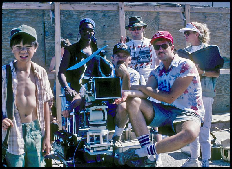 """""""Boa Che"""". crew.  1985."""