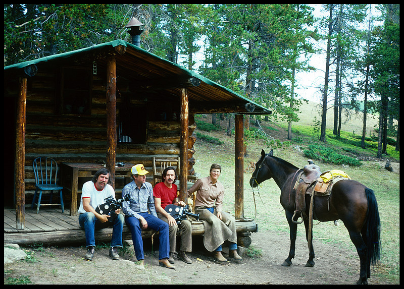 """Cowboys"".  Big Horn, Wyoming. 1976."