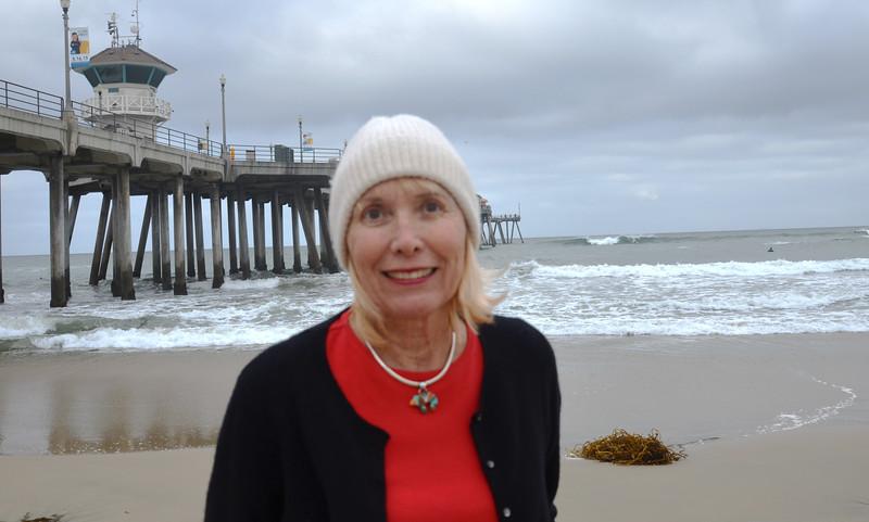 Morning Walk at Huntington Beach Pier in California 2