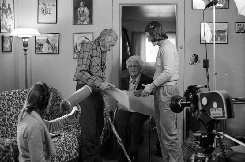 Peggy Miles, Robert Yellowtail, ,Connie Poten,<br /> Photo: Richard Blakeslee