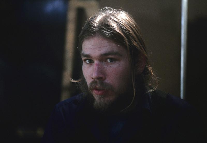 """""""Mountian Music"""", Bob Gardiner.  1975.  <br /> Photo: Richard Blakeslee"""