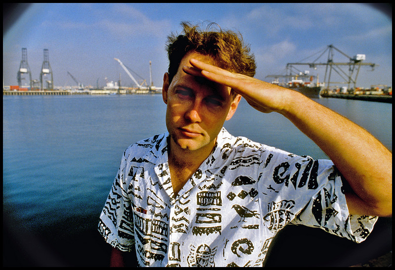 """Boa Chi"", Mark Smith, DP.  1986.  <br /> Photo: Richard Blakeslee"