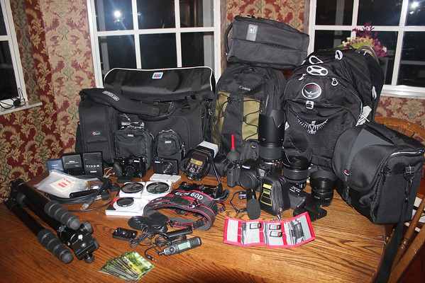 All My Stuff Pre-7D and LX7. The 60D was a superb camera, and underrated.