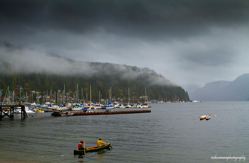 Deep cove,Marina,north Vancouver,B.C,Canada