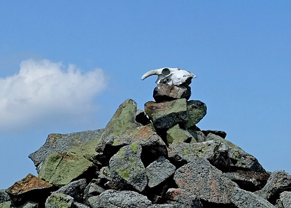 Cairn in the Cheviots