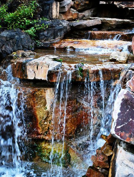 Waterfall Vail Colorado
