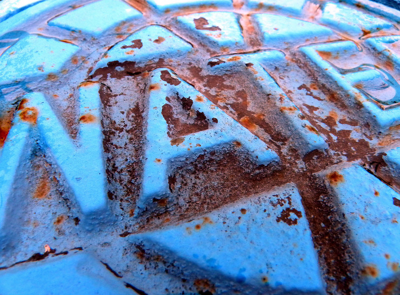 Rust And Blue
