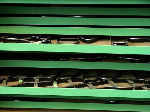 Grenson shoe factory in Rushden