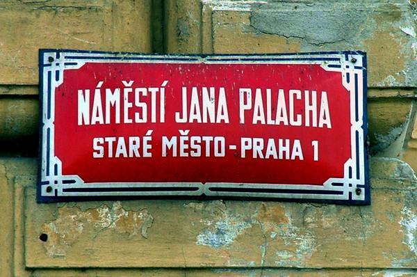 Jan Palasch Place Prague