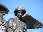 This is of course the Bethesda Fountain angel.