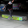 Skateboarder at South Bank London