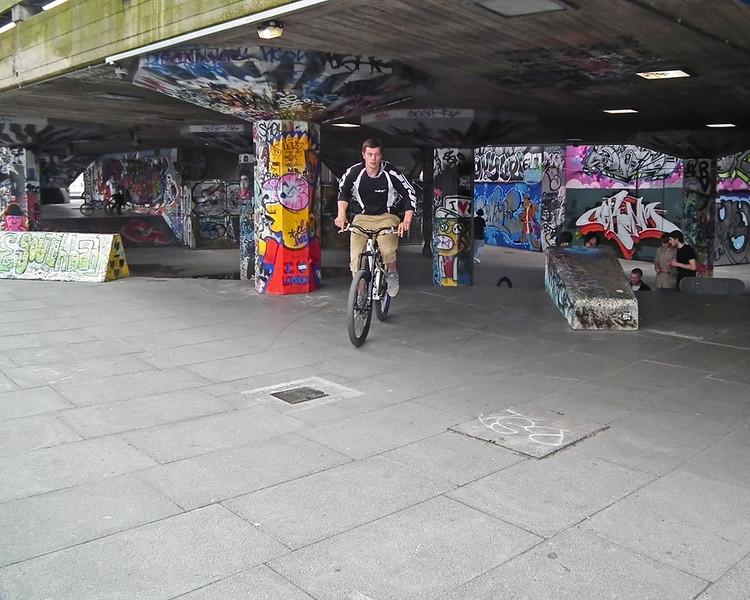 BMX at South Bank London