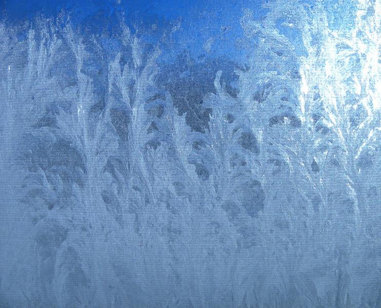 Frost On My Inside Window
