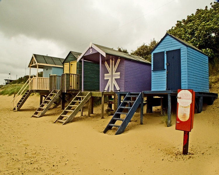 Wells Next to the Sea Beach Huts 1