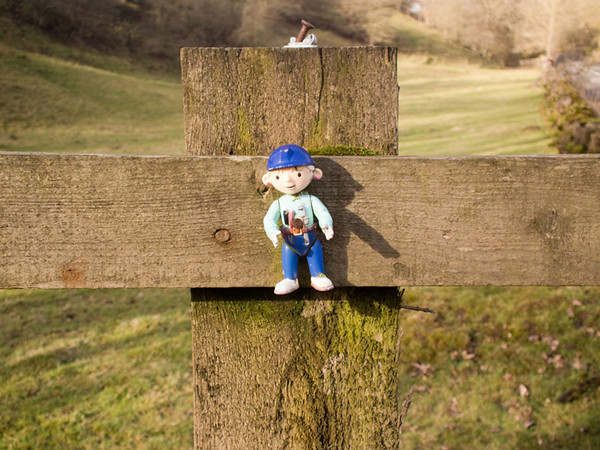 Found pinned to a fence at Rookhope in Co. Durham
