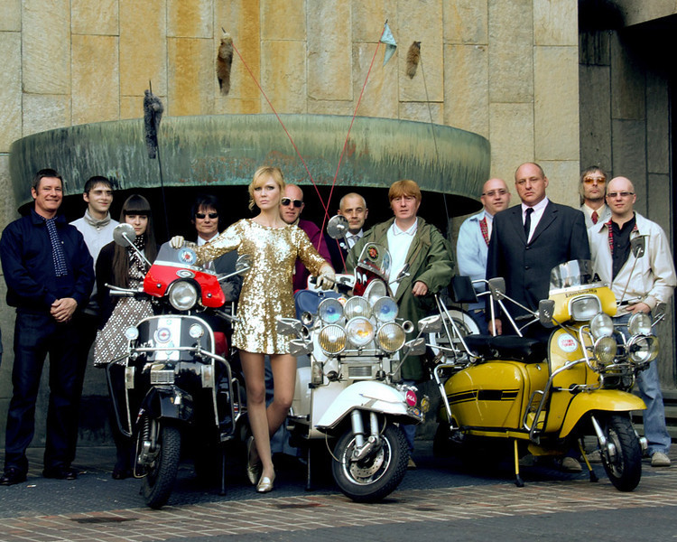 Scooter boys and girls at Newcastle Civic Centre 2009