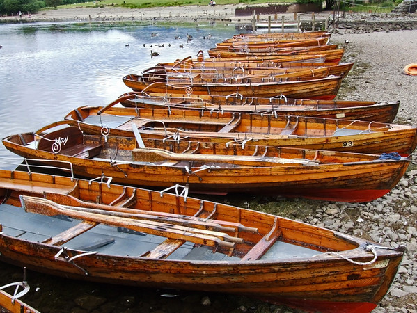 Windermere row boats