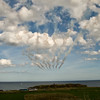 Red Arrows at the Great North Run 2016