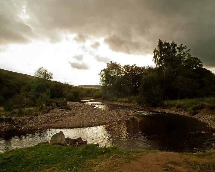 Ingram Valley, River Breamish, Northumberland