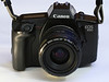 It's 1987. My second (analogue) SLR camera: the Canon EOS 650,<br /> It was also my first autofocus camera. Loved it. It was magic!!!<br /> This camera was the first to be launched with the Electro-Focus (EF) lens mount.<br /> In a move that would later be copied by all other manufacturers, the EOS 650 - and every subsequent EOS camera - replaced the mechanical links and levers between the camera and the lens in favour of a fully electronic configuration.<br /> <br /> BTW:<br /> Did you know that the EOS 650 is the world's first EOS camera?<br /> The EOS 650 is the camera from which all Canon SLRs and DSLRs descend. <br /> For example, today's 5D Mark II takes the same eyecups and has its controls in the same places!!<br /> That's more then 20 years of EOS history...<br /> <br /> AND:<br /> Since Canon started the EOS system as a completely brand-new, ground-up design, the EOS 650 and EOS 620 are complete masterpieces of modern simplicity. They are not sloppy hacks like Nikon's first attempts at AF cameras.<br /> <br /> Because they are original EOS cameras, every Canon lens made today, like L, USM and IS, work perfectly, unlike with Nikon, where nothing from 1987 works well with Nikon's newest cameras or lenses.
