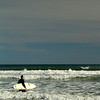surfing @ tramore beach,Waterford