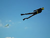 Frogman kite