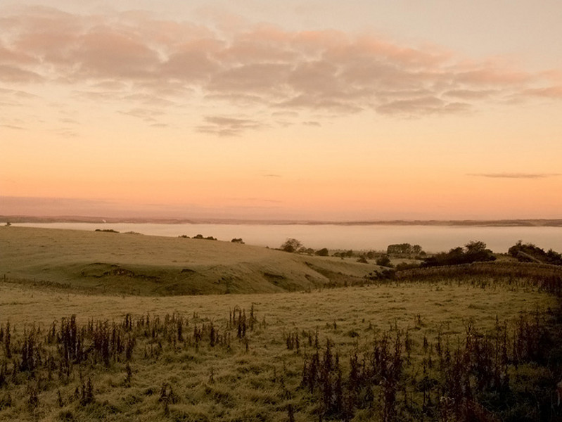 Sunrise over Northumberland