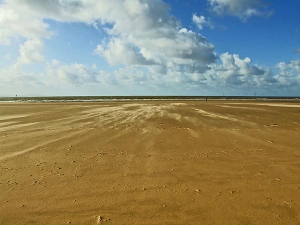 Crosby Beach, Lancashire