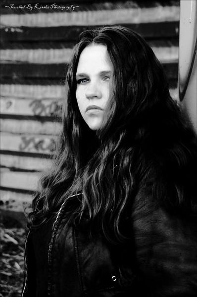 Amber Brown ~ Lead Singer & Guitarist Of Vernicious Knid S.L.C. Utah