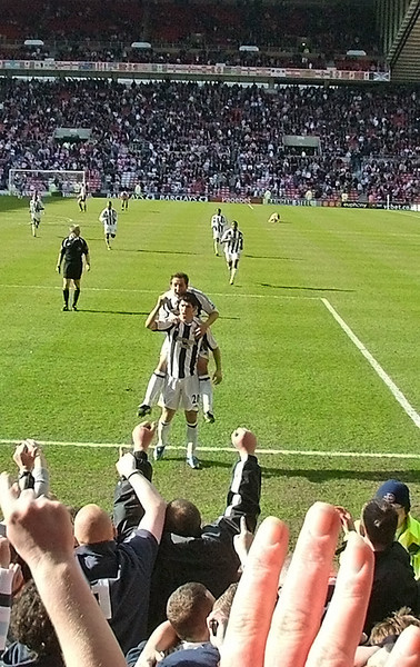 Luques goal against SAFC