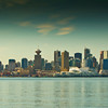Viewed from lonsdale quay,downtown Vancouver,Canada