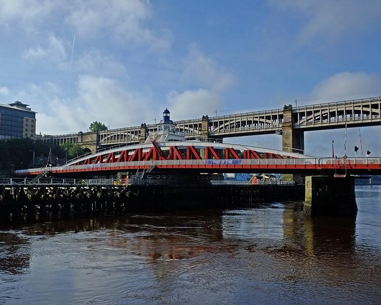 Swing Bridge and High Level Bridge