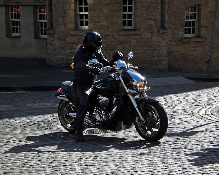 Edinburgh - the Black Knight