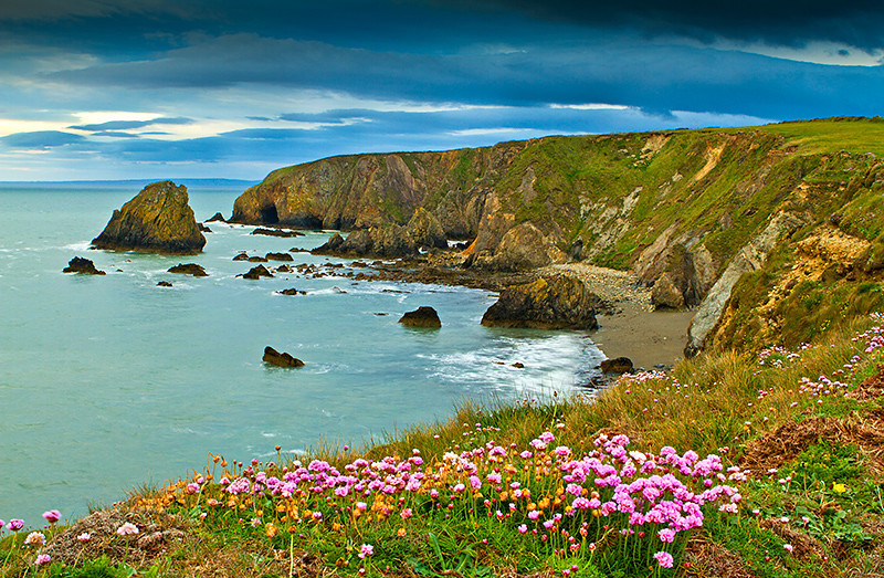 Kilfarasy cliffs,waterford,Ireland