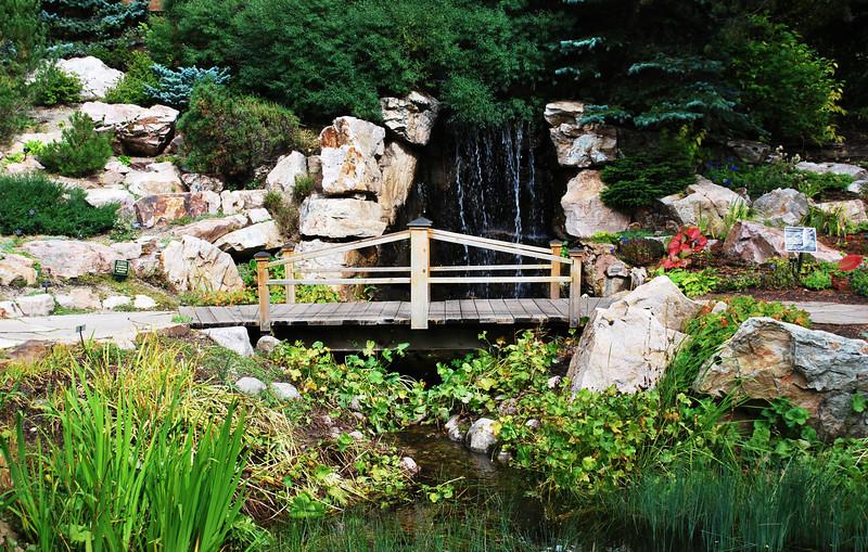 Bridge at Betty Ford's Alpine Garden