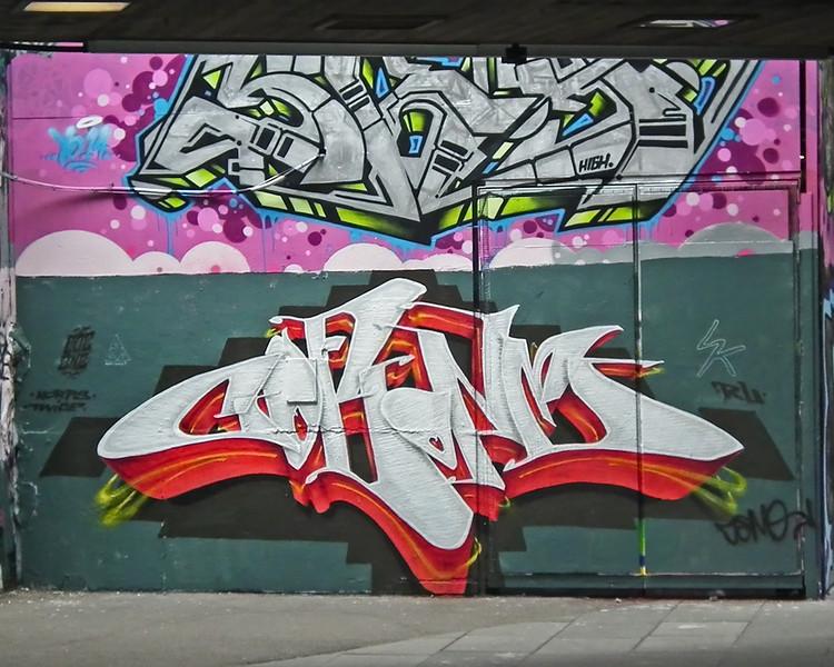 Grafitti at South Bank London