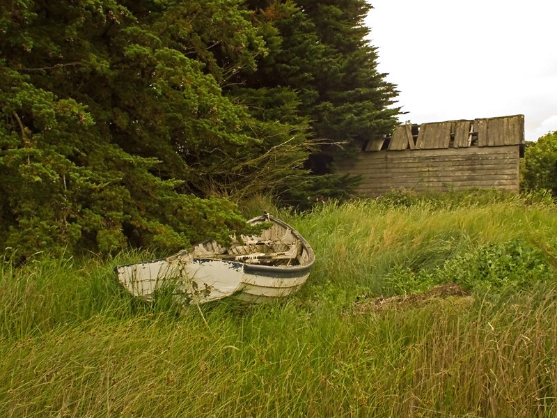 Burnham Ovary Staithes boat