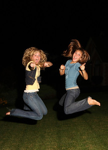 lawn jumping