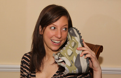 Devin on her new sneaker phone