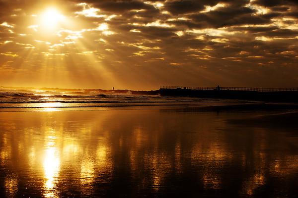 """"""" Sunrise in Daytona """""""