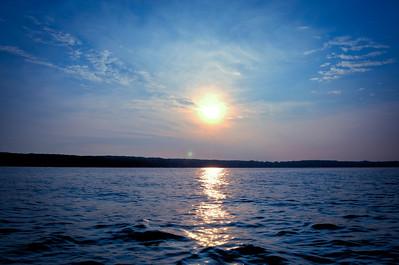 Sunset on Higgins Lake
