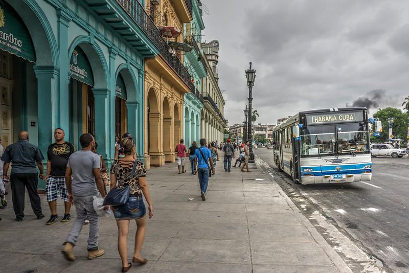 Autobus en La Habana