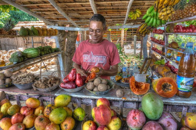 Vendedor de Fruitas