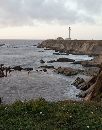 Northern California. Point Arena lighthouse.